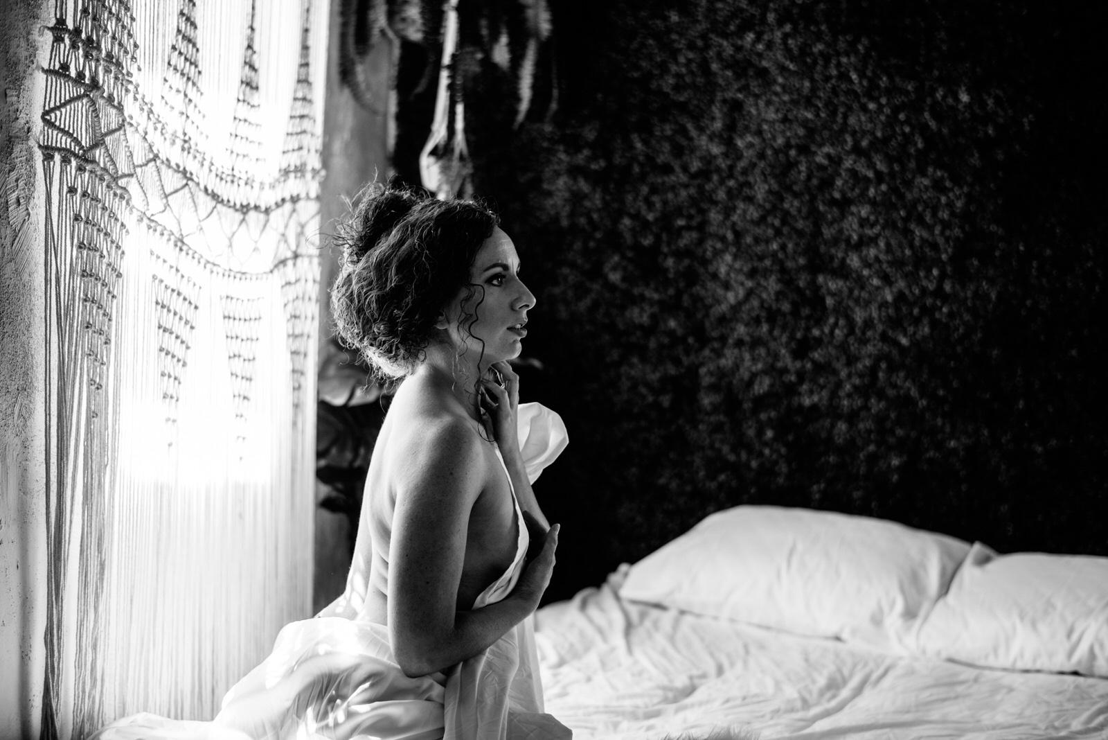 philadelphia bridal boudoir photography